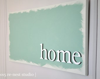 home customized canvas - modern decor/canvas decor/gallery wall/photo canvas/housewarming/new home/anniversary gift
