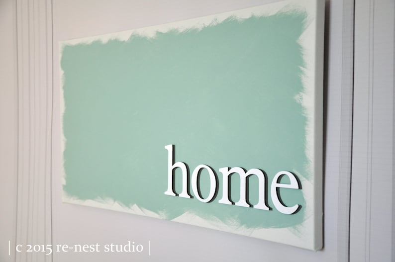 home customized canvas  modern decor/canvas decor/gallery image 0