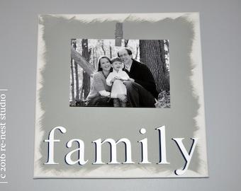 family photo canvas - gallery wall/family canvas/photo canvas/housewarming/new home gift/anniversary gift/keepsake canvas/family photo/frame