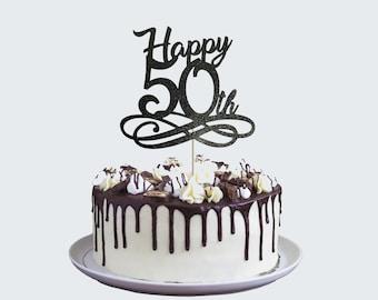 50th Birthday Cake Topper Limited 1970 Edition Cake Topper 50 Birthday Sign Birthday Anniversary Wedding Gift 50 Cake Topper Birth Year Cake Topper Fifty Cake Topper