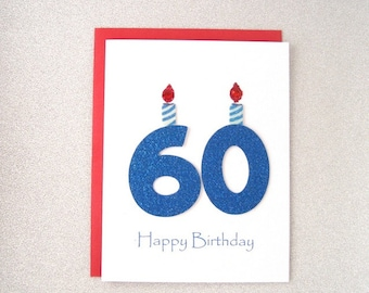 60th Birthday Card Milestone Greeting Sixtieth Happy The Big 60
