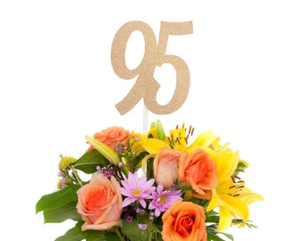 95 Centerpiece Stick 95th Birthday Decoration Anniversary Decorations