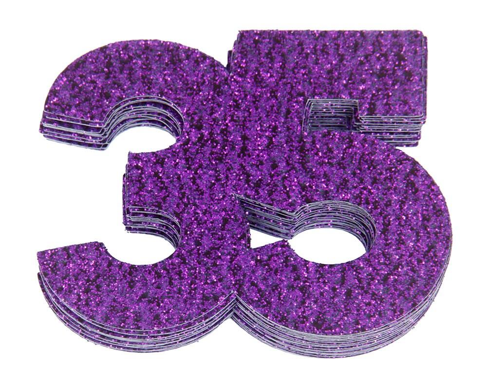 35 Confetti 35th Birthday Anniversary Party Decorations