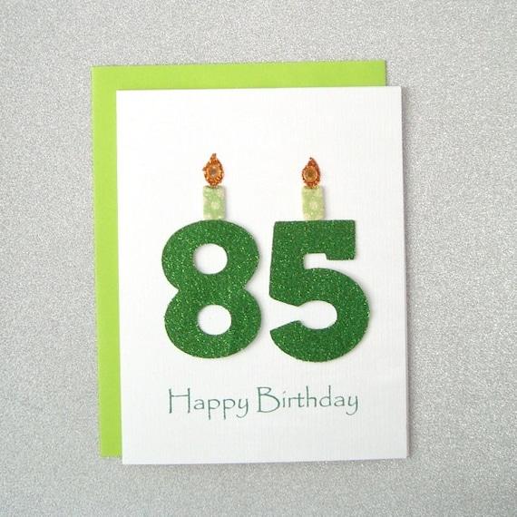 85th birthday card 85th milestone birthday card 85th etsy image 0 m4hsunfo