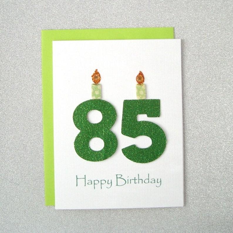 85th Birthday Card Milestone