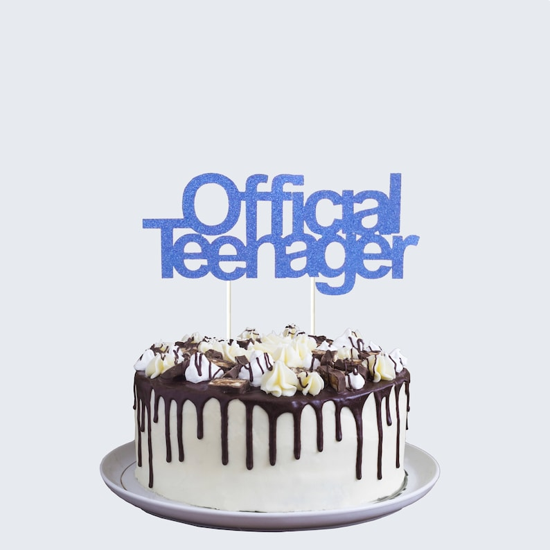 Official Teenager Cake Topper Teenage 13th