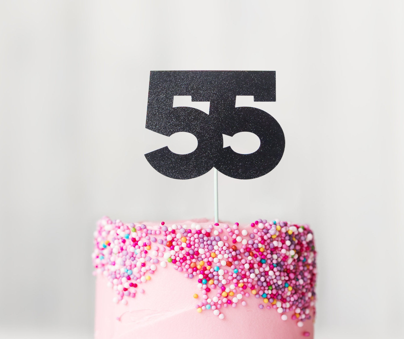 Fine 55 Cake Topper 55Th Birthday Cake Topper Fifty Fifth Birthday Etsy Personalised Birthday Cards Paralily Jamesorg