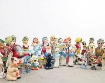 Antique Carnival Chalkware Prizes