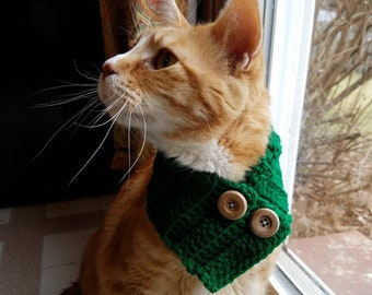 READY TO SHIP Cat Cowls-Cat Scarves