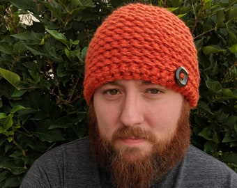 e0ccecd479f Men s and Boy s Fall Winter Beanie-Crochet Men s Hat-Crochet Men s Hat-Men s  Hat Multiple Sizes-Child-Men s Hat
