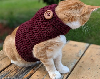 READY TO SHIP Cat Sweaters in various colors/sizes