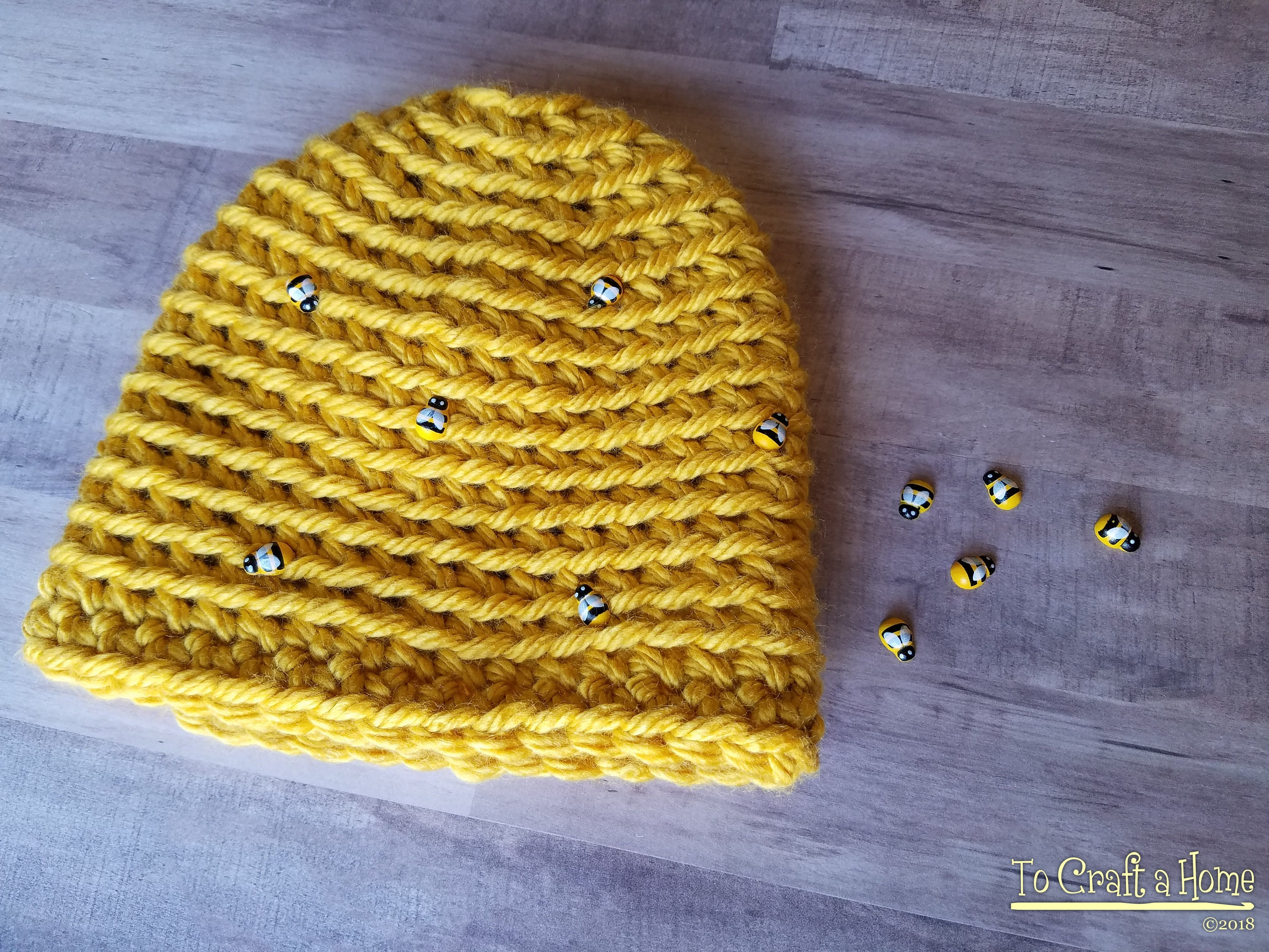 Crochet Beehive Hat Bee Hat Beehive Hat Spring Hat Bumble Bee Etsy