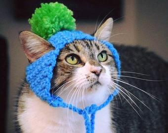 READY TO SHIP Pom Pom Cat Hats