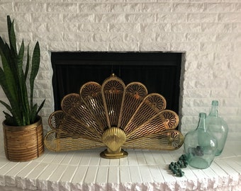 Fireplace Fan Etsy