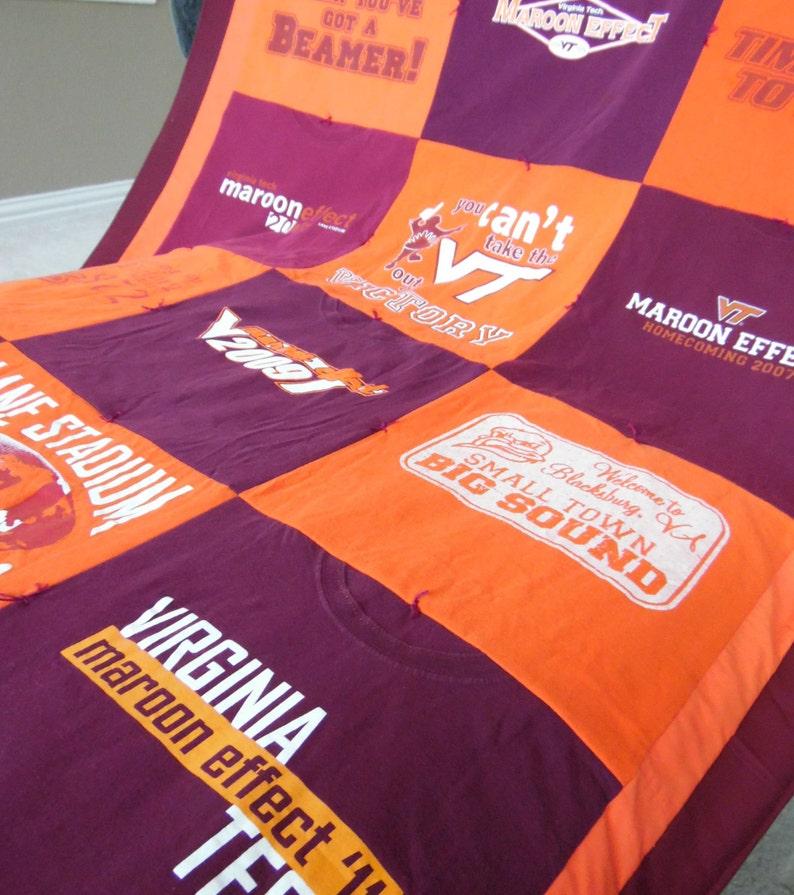 T Shirt Quilt  Standard T-Shirt quilt  T-Shirt Quilt  image 0