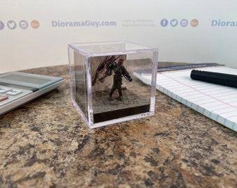 Tarman - 2 inch Decorative Diorama Cube
