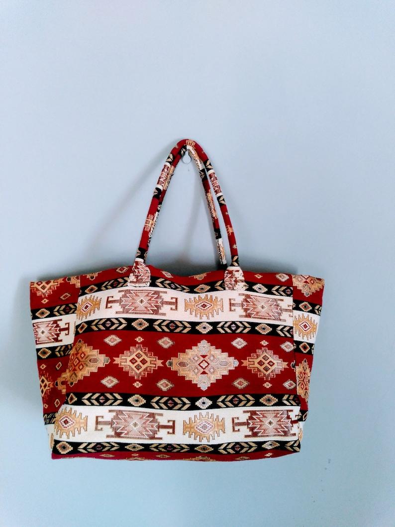 Kilim Tote Bag,Free Shipping