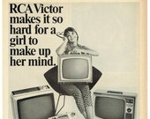 RCA VICTOR 1965 RCA Victor Television Advertisement