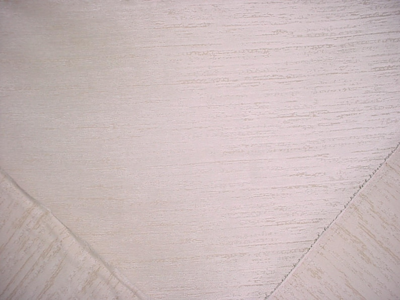 Soft White Strie Textured Chenille  Upholstery Fabric 4-18 yards Lee Jofa 2014125 Noor in Ivory Below Wholesale Free Shipping