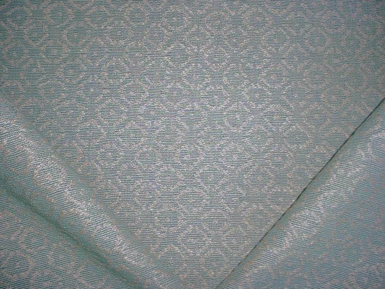 4-12 yards Lee Jofa  Brunschwig et Fils BFC3637 Albemarle in Aqua Free Shipping Beautiful Linen Floret Drapery Upholstery Fabric