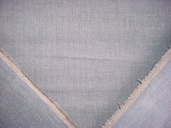 Free Shipping 5-18 yards Luxurious Colefax and Fowler Branton in Stone Chenille Threaded Herrinbone Drapery Upholstery Fabric