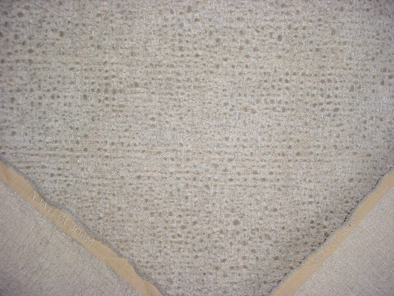 Free Shipping Velvety Leopard Chenille Weave Upholstery Drapery Fabric 1 yard Casamance 35900 Shamal in Gris Below Wholesale