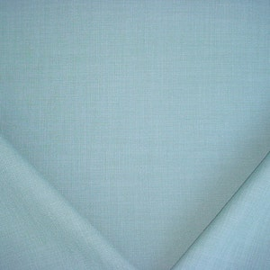 Woven Linen Basketweave Drapery Upholstery Fabric 2 yards Colefax and Fowler  Jane Churchill J624F Darwin in Sky Blue Free Shipping