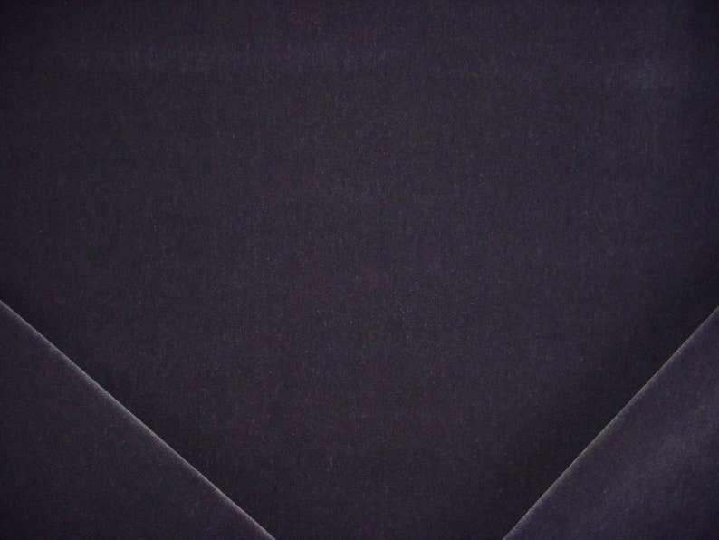 Free Shipping Midnight Blue 100/% Mohair Velvet Upholstery Drapery Fabric To the Trade 2 yards Savel 865 Majestic Mohair