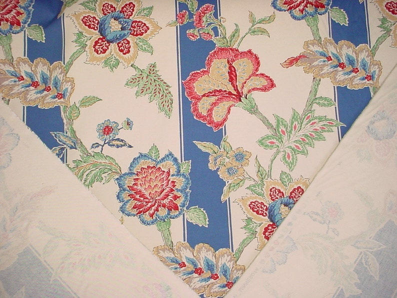 Free Shipping 3-18 yards Guell Lamadrid Minnesota Rare Spanish Floral Luxury Printed Cotton Drapery Upholstery Fabric