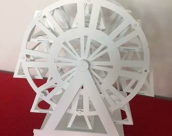 ferris wheel cupcake holder for circus party- carnival party decoration