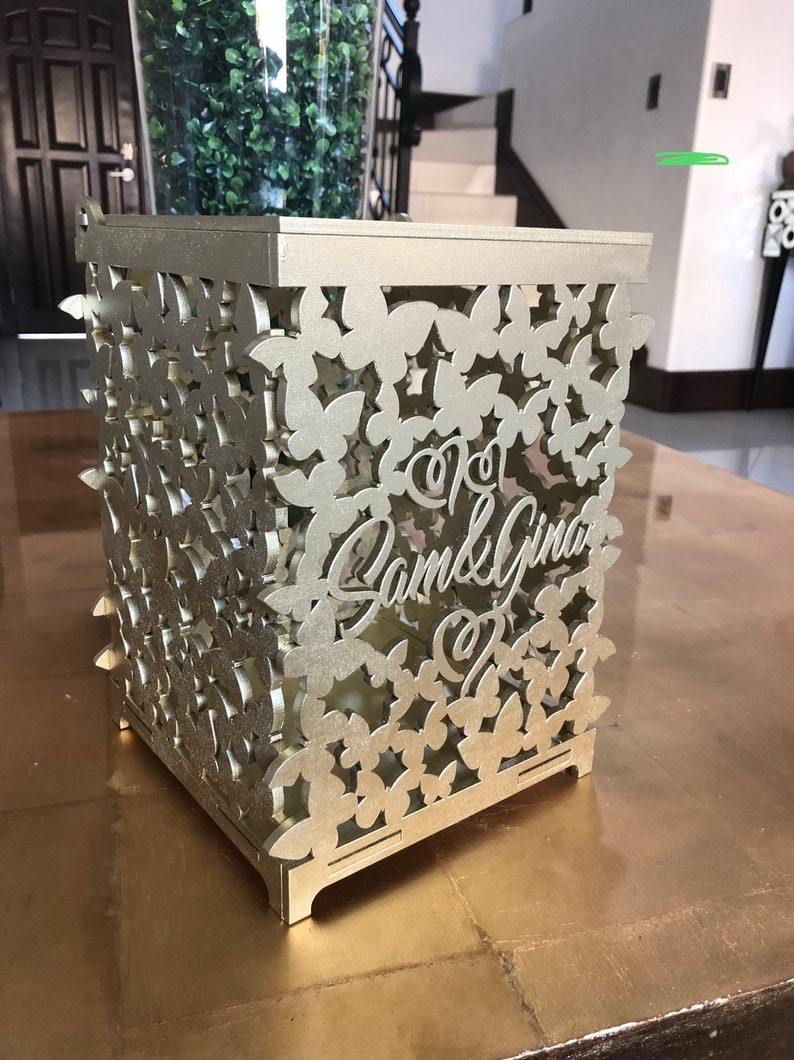 Image 0: Wedding Card Box For Cash At Reisefeber.org
