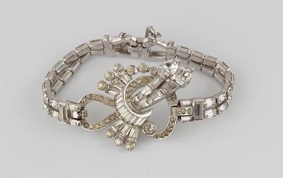 Mazer Brothers, Mazer Bracelet, Art Deco Bracelet,