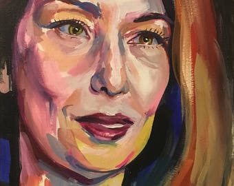 Sofia Coppola Painting