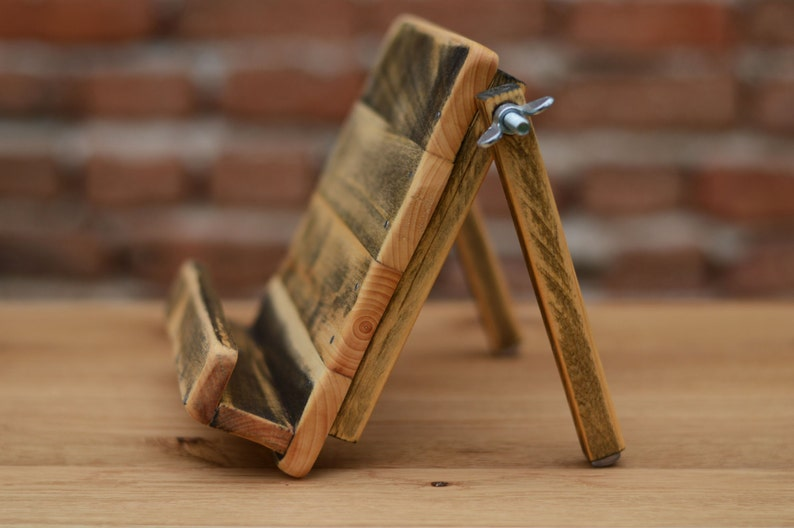 IPad Dock Tablet stand Wooden iPad Air stand Wooden Tablet ...