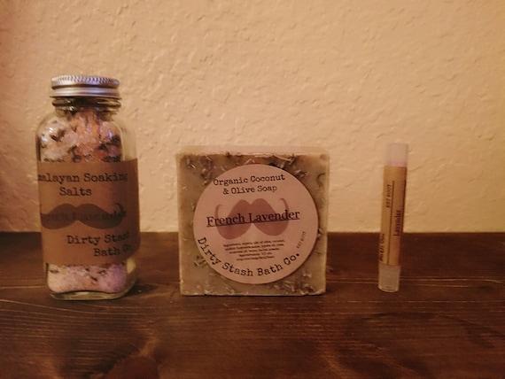 French Lavender Spa Gift Set Organic