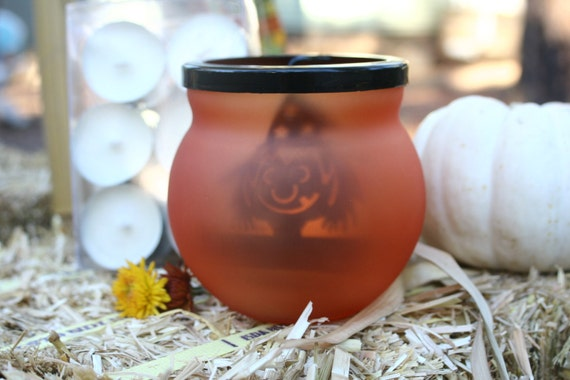 Halloween Witch Tealight Gift Set Pick your Scent