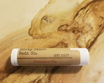 Pumpkin Pie-2 Tubes Organic Lip Balm-made with Organic ingredients
