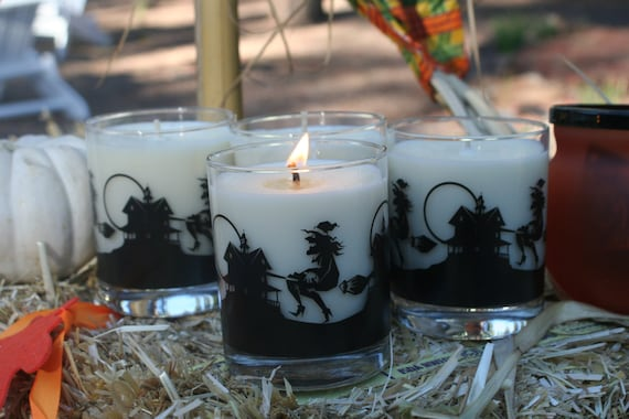 Witches Brew 8 oz Soy Wax Candle in Halloween Jar