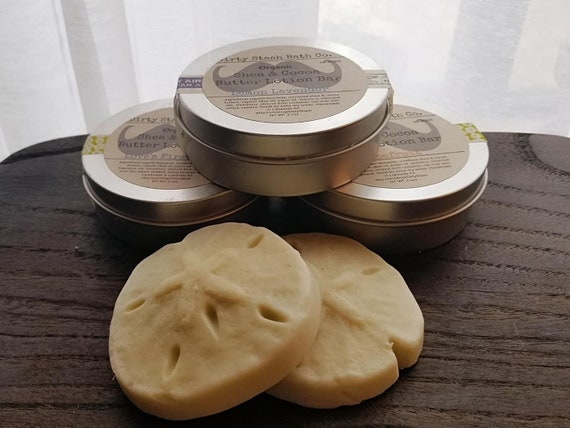 Lemon & Lavender Organic Solid Lotion Bar 2 ozs