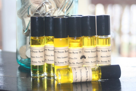 Natural Jojoba Oil Perfume Oil-Vanilla Grapefruit