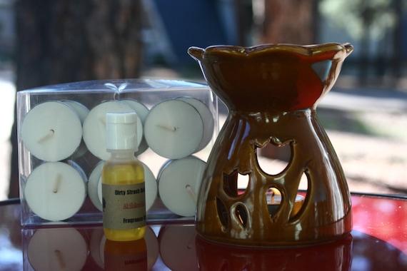 Lavender Vanilla Fragrance Burner Gift Set