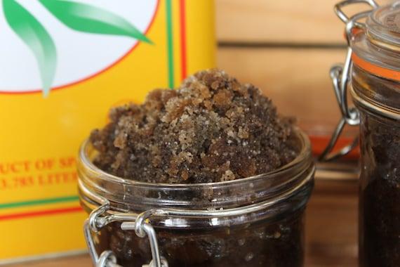Organic Brown Sugar Coffee Scrub Vanilla Essential oil 5 & 9 ozs