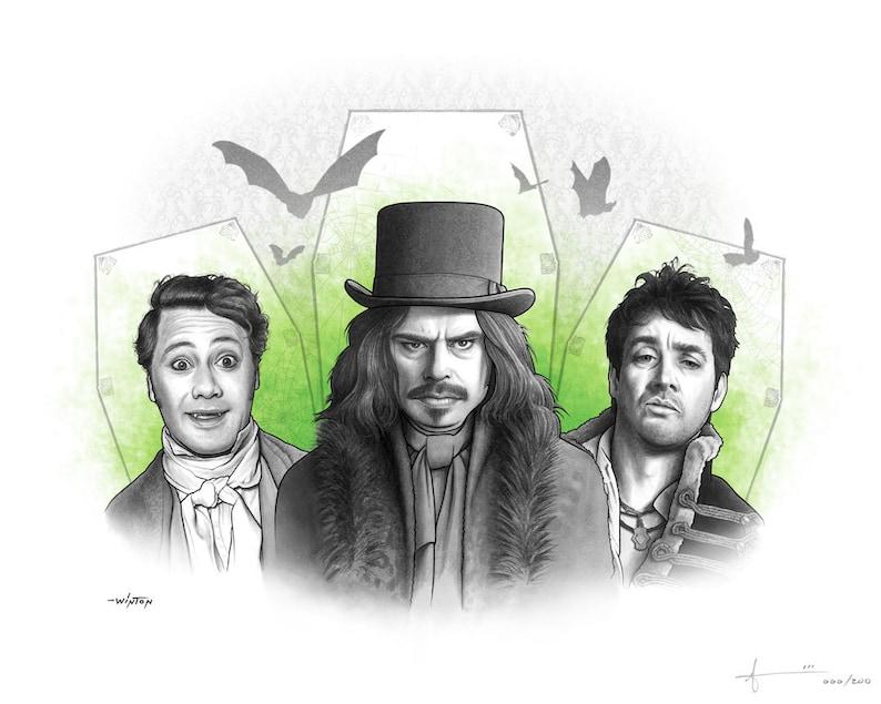 Limited Edition Print: What We Do in the Shadows image 0