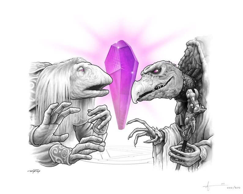 Limited Edition Print: The Dark Crystal image 0