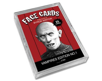 Face Cards: Vampires