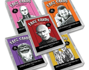 Face Cards: All 5 Sets