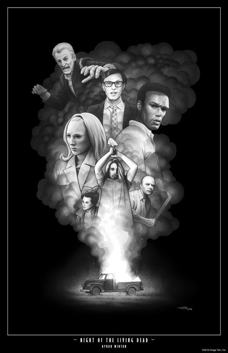Print: Night of the Living Dead image 0