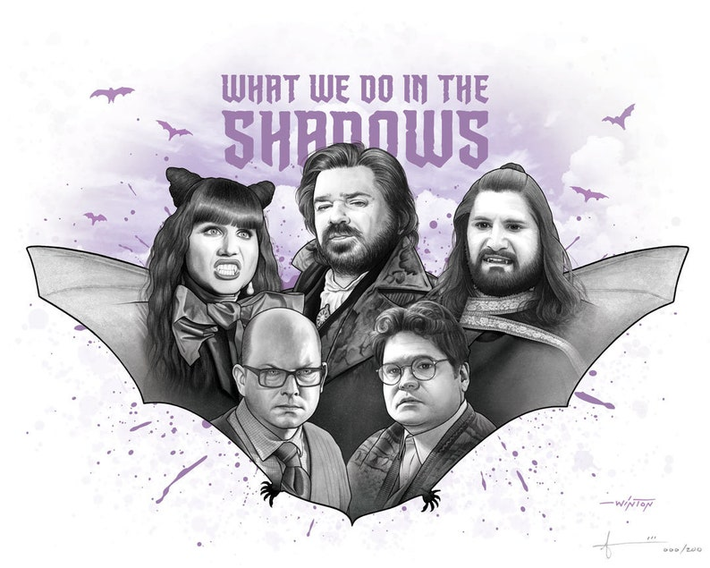 Limited Edition Print: What We Do in the Shadows TV image 0