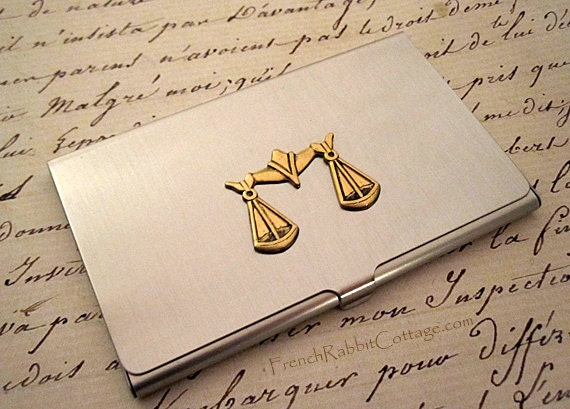 Attorney Gift Lawyer Business Card Case Law School Graduate Etsy