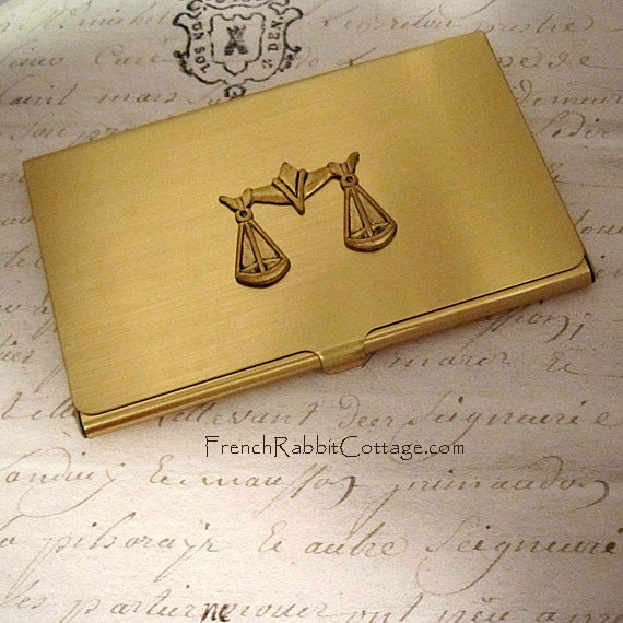 Lawyer Gift Attorney Business Card Case Law School Graduate Etsy